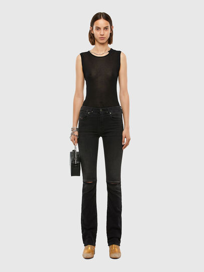 Diesel - Slandy-B 069QN, Black/Dark grey - Jeans - Image 6
