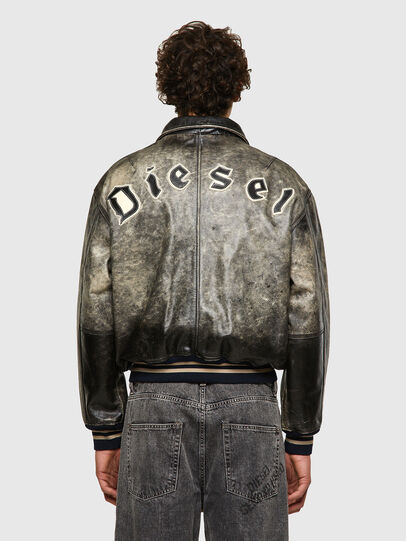 Diesel - DxD-2, Black - Leather jackets - Image 4