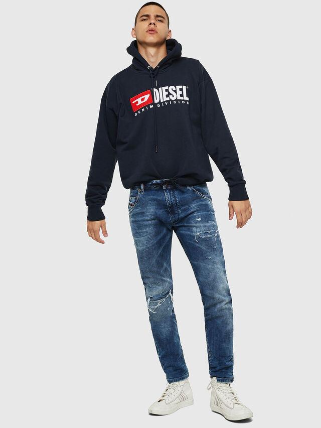 Diesel - Krooley JoggJeans 0685I, Medium blue - Jeans - Image 5