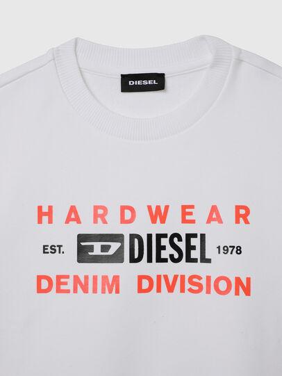 Diesel - SGIRKK10 OVER, White - Sweaters - Image 3