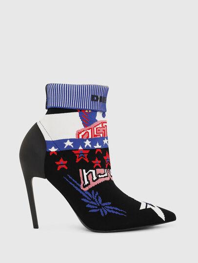 Diesel - D-SLANTY HAB, Multicolor/Black - Ankle Boots - Image 1