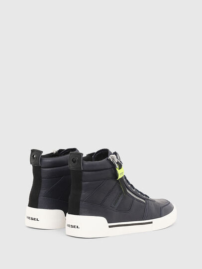 Diesel - S-DVELOWS, Dark Blue - Sneakers - Image 3