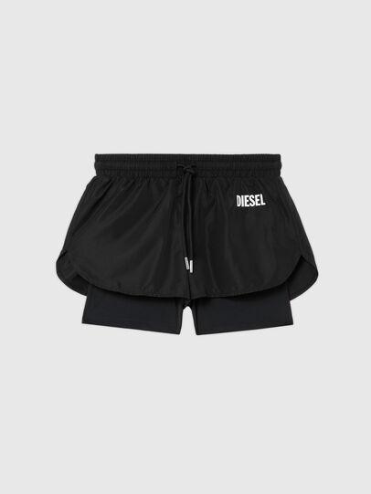 Diesel - UFLB-FAUSTIN-HIGH, Black - Pants - Image 1
