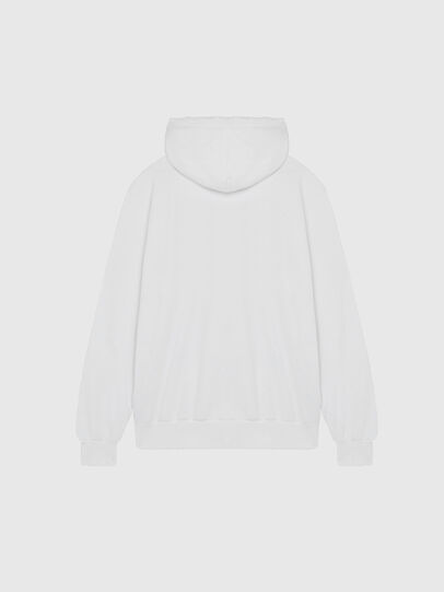 Diesel - S-GIR-HOOD-DIVISION-, White - Sweaters - Image 2