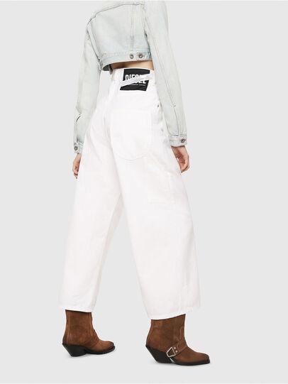 Diesel - D-Luite 069EE, White - Jeans - Image 2