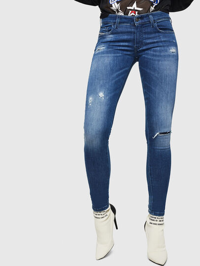 Diesel - Slandy Low 089AI, Medium blue - Jeans - Image 1