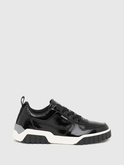 Diesel - S-RUA LOW W, Black - Sneakers - Image 1