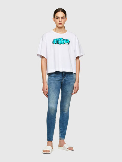 Diesel - Slandy High 009PT, Light Blue - Jeans - Image 5