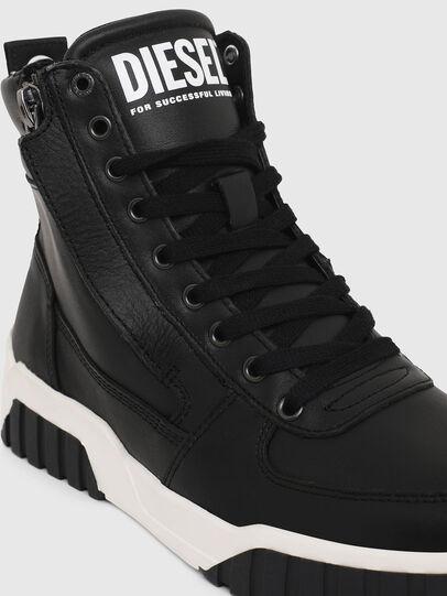 Diesel - S-RUA MID W, Black - Sneakers - Image 4