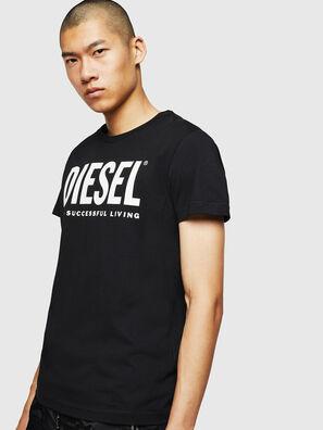 T-DIEGO-LOGO, Black - T-Shirts