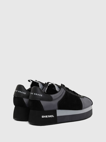 Diesel - S-PYAVE WEDGE, Blue/Black - Sneakers - Image 3
