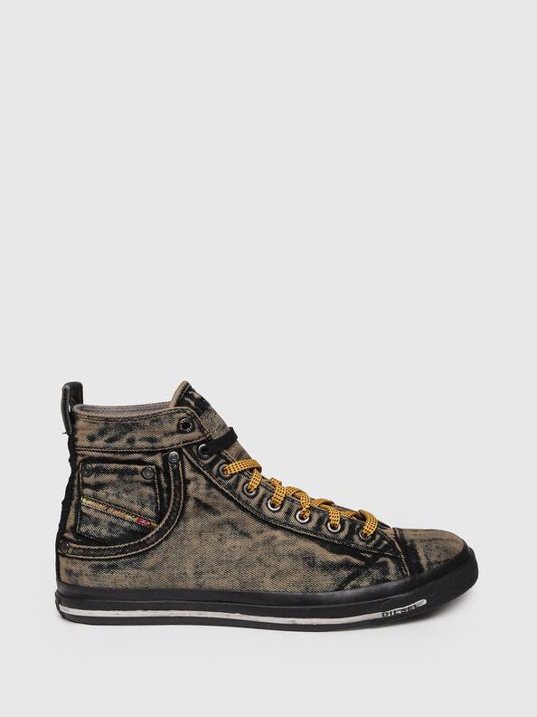 EXPOSURE STRIPE, Yellow - Sneakers