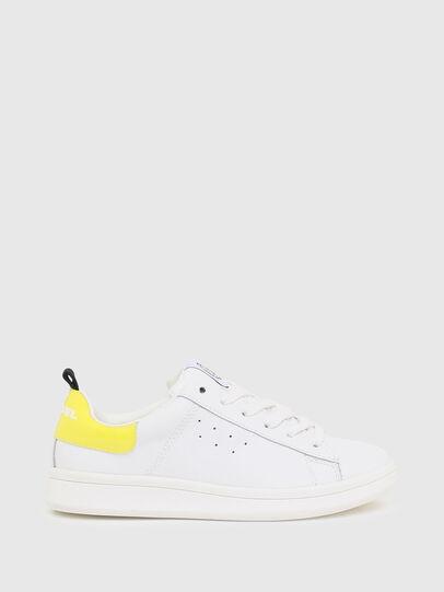 Diesel - SN LOW LACE 11 FULL, White/Yellow - Footwear - Image 1