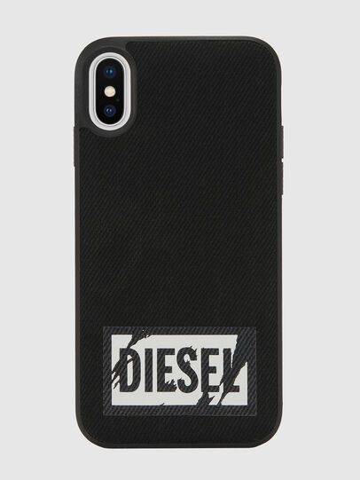 Diesel - BLACK DENIM IPHONE X CASE,  - Cases - Image 2