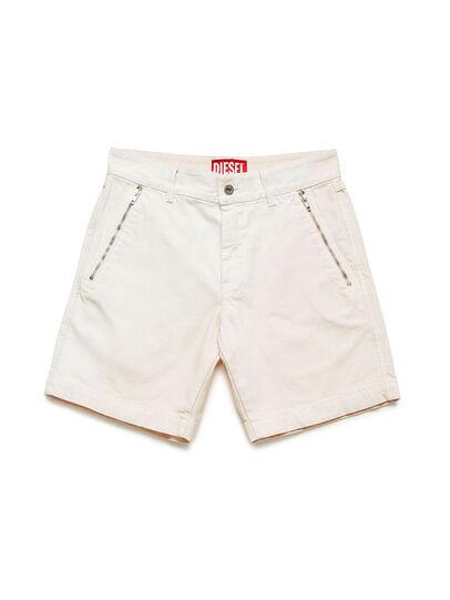 Diesel - GR02-P303, White - Shorts - Image 1
