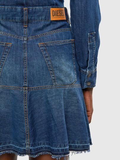 Diesel - DE-JOANA, Medium blue - Dresses - Image 5