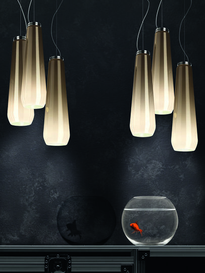 Diesel - GLAS DROP, Grey - Hang Lighting - Image 4
