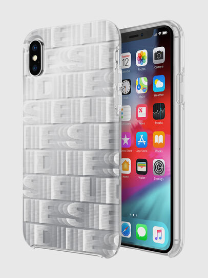 Diesel - DIESEL PRINTED CO-MOLD CASE FOR IPHONE XS & IPHONE X, White - Cases - Image 1