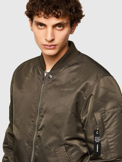 Diesel - J-ROSS-REV, Brown - Jackets - Image 3