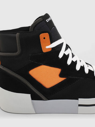 Diesel - S-DESE MS, Black/Orange - Sneakers - Image 5