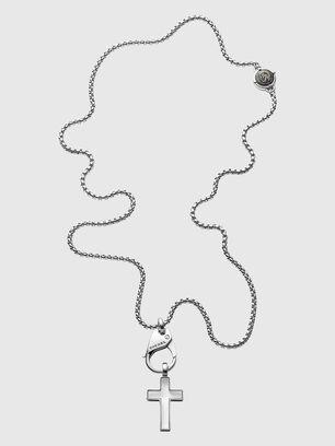 DX1252, Silver - Necklaces