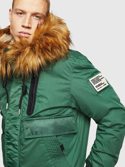 Diesel - W-BURKISK, Green - Winter Jackets - Image 5