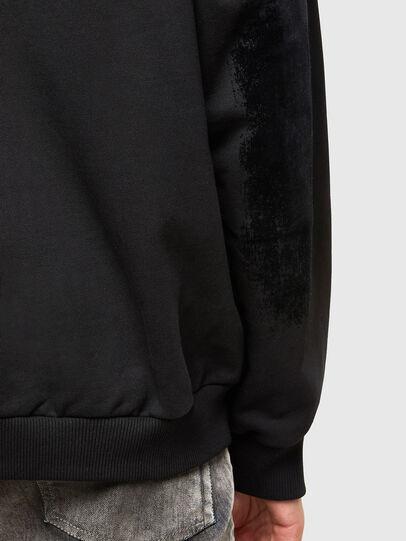 Diesel - S-HENON-ZIP, Black - Sweaters - Image 4