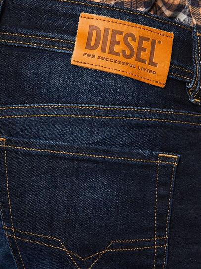 Diesel - Sleenker 009EY, Dark Blue - Jeans - Image 5