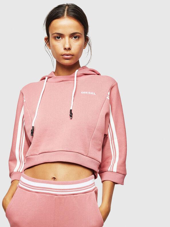 UFLT-VERTIX-CROP, Pink - Sweaters