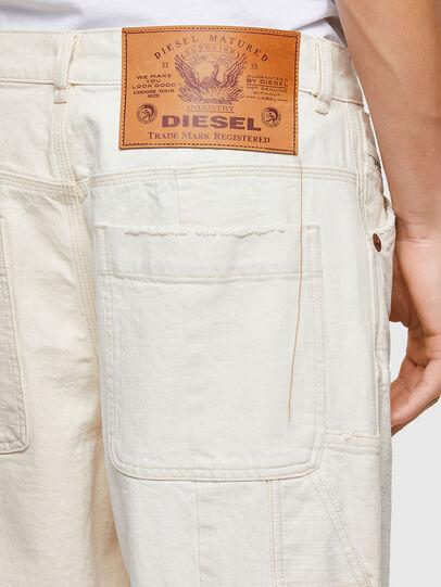 Diesel - D-FRAN-SP1, White - Pants - Image 4