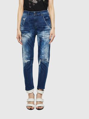 Fayza JoggJeans 0099S, Dark Blue - Jeans