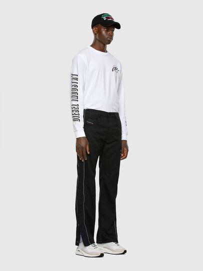 Diesel - Krooley JoggJeans 0KAYO, Black/Dark grey - Jeans - Image 7