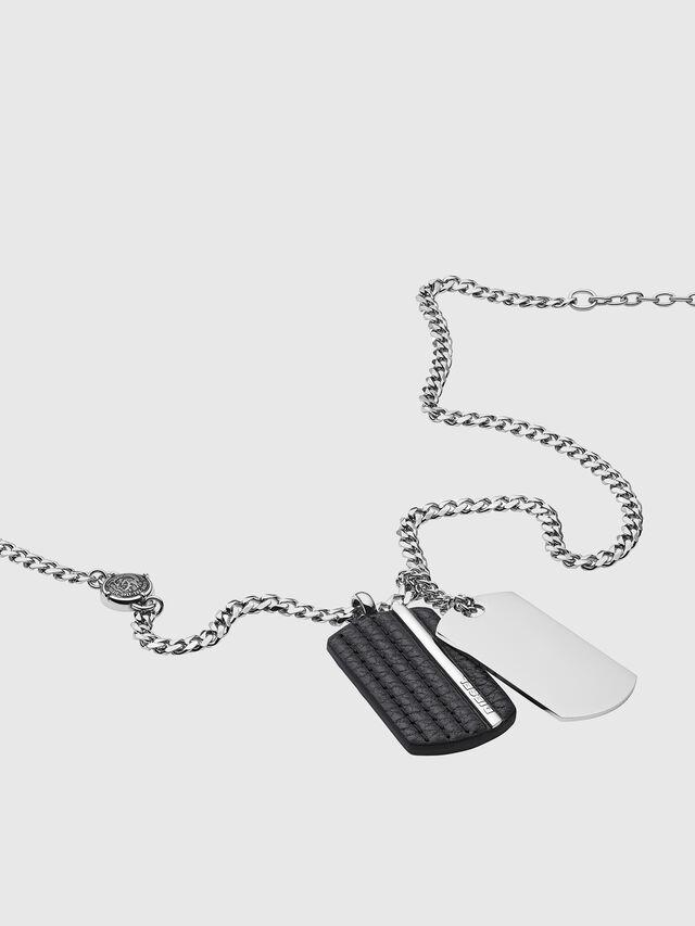 Diesel - DX1040, Silver - Necklaces - Image 2