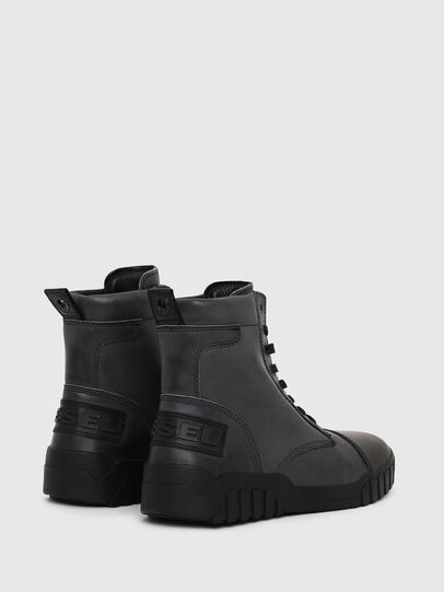 Diesel - H-RUA AM, Dark Blue - Sneakers - Image 2