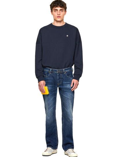 Diesel - Larkee 009MI, Dark Blue - Jeans - Image 5