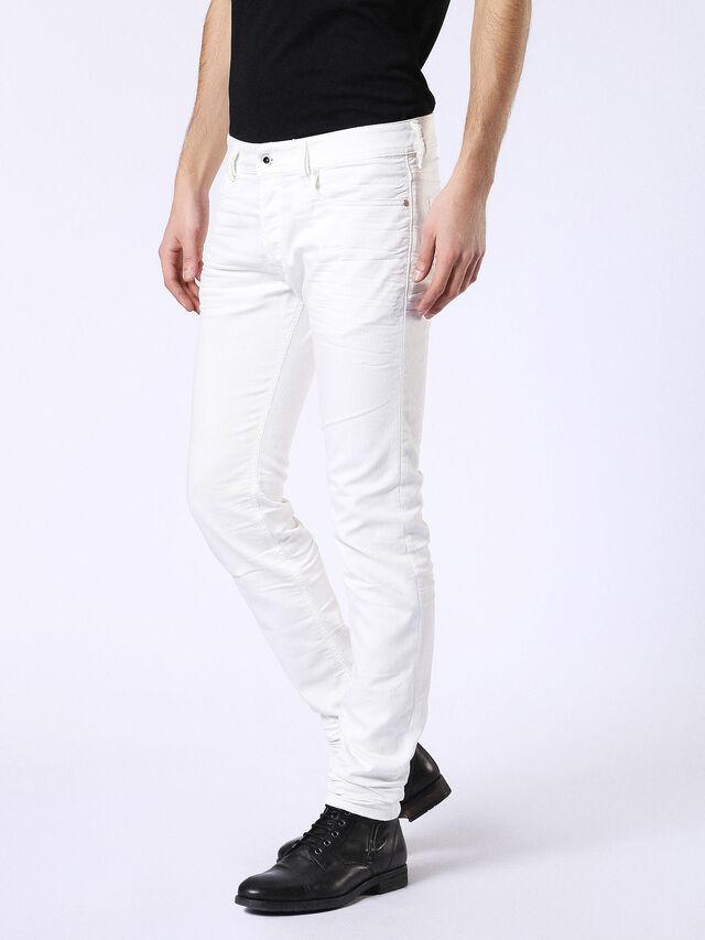 Diesel Sleenker 084CY, White - Jeans - Image 4