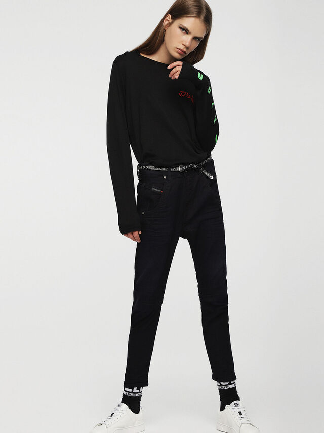 Diesel - Fayza JoggJeans 0829P, Dark Blue - Jeans - Image 4