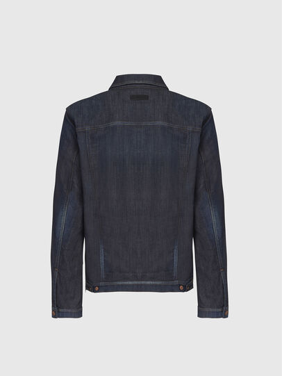 Diesel - NHILL-TW, Dark Blue - Denim Jackets - Image 2