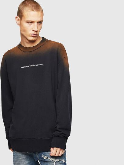 Diesel - S-BAY-SUN, Black - Sweaters - Image 1