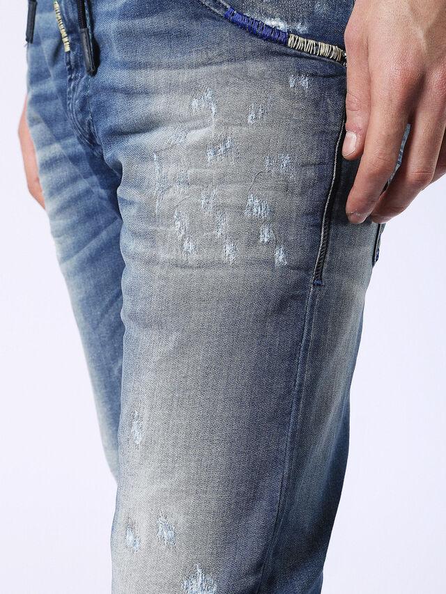 Diesel Krooley JoggJeans 0680Y, Medium blue - Jeans - Image 8