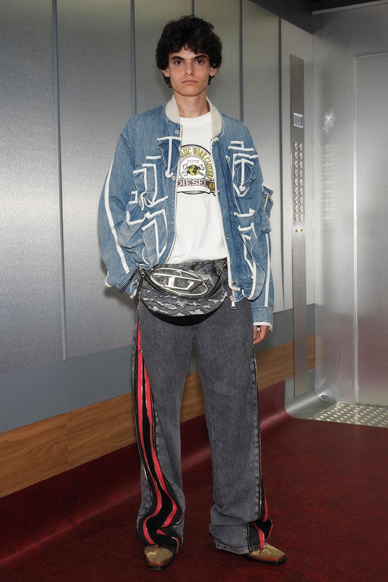 Diesel Fashion Show SS22   Glenn Martens   Look 46