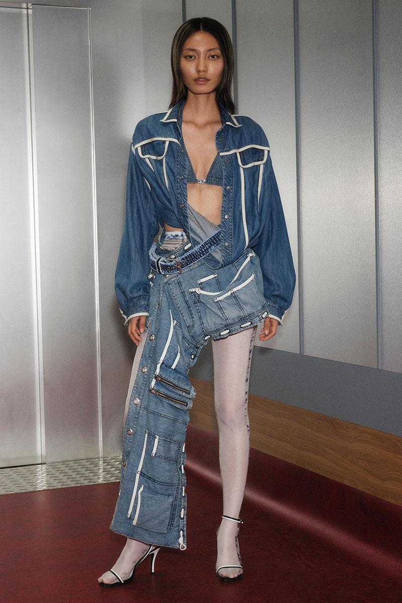 Diesel Fashion Show SS22   Glenn Martens   Look 47