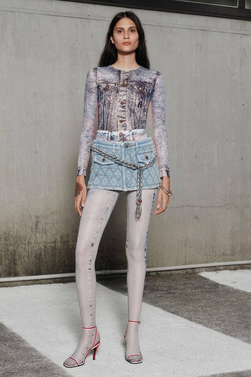 Diesel Fashion Show SS22   Glenn Martens   Look 31