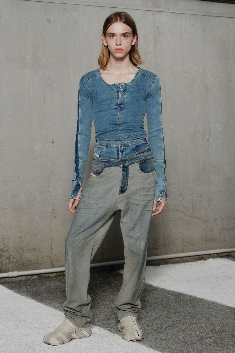 Diesel Fashion Show SS22   Glenn Martens   Look 22