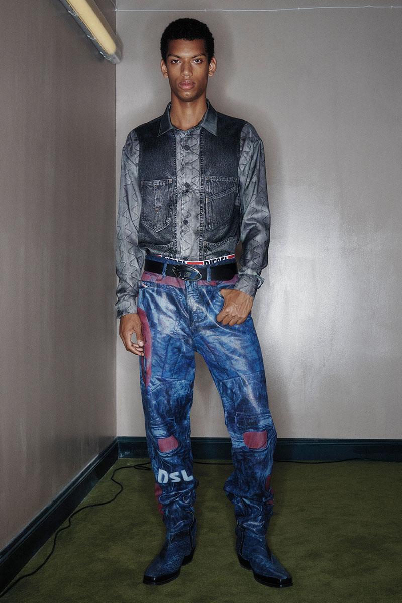 Diesel Fashion Show SS22   Glenn Martens   Look 10