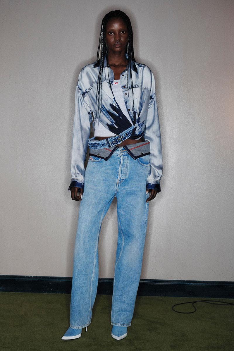 Diesel Fashion Show SS22   Glenn Martens   Look 9