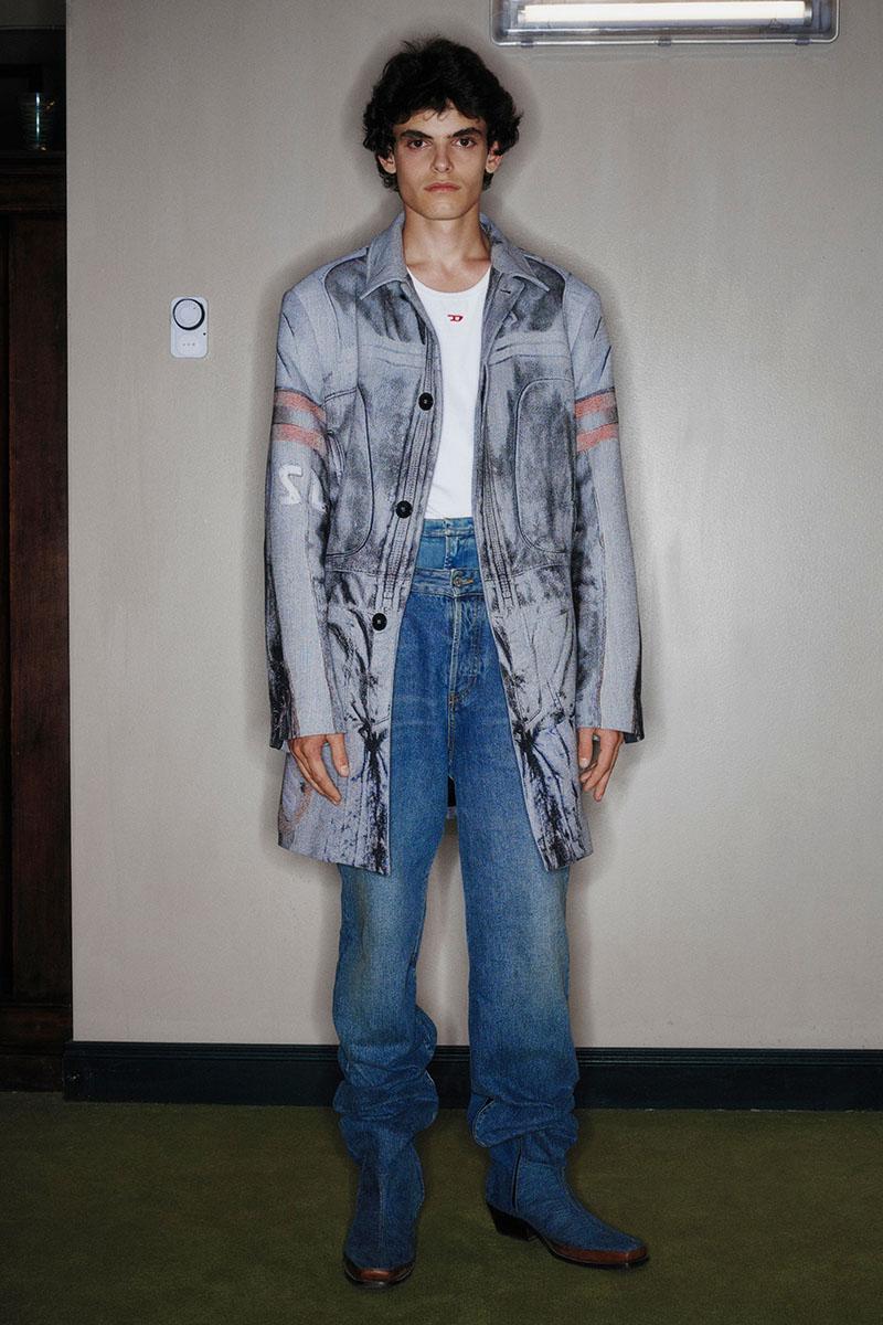 Diesel Fashion Show SS22   Glenn Martens   Look 7