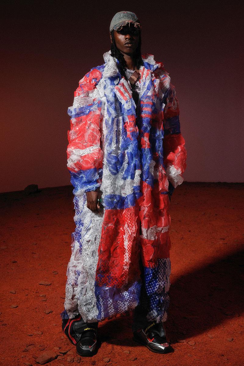 Diesel Fashion Show SS22   Glenn Martens   Look 77