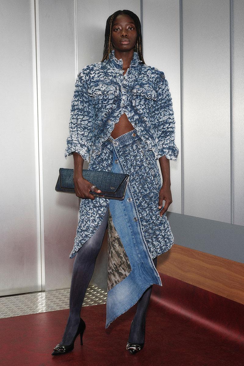 Diesel Fashion Show SS22   Glenn Martens   Look 60