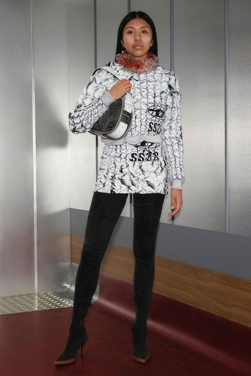 Diesel Fashion Show SS22   Glenn Martens   Look 57